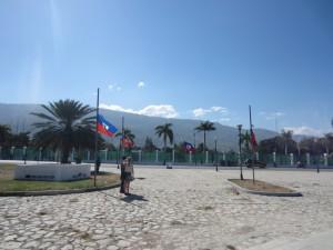 12. januar 2013: Her var nasjonalpalasset før jordskjelvet.